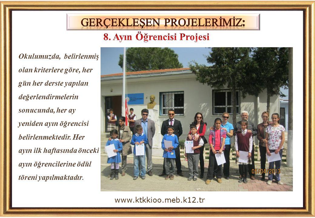 8. Ayın Öğrencisi Projesi
