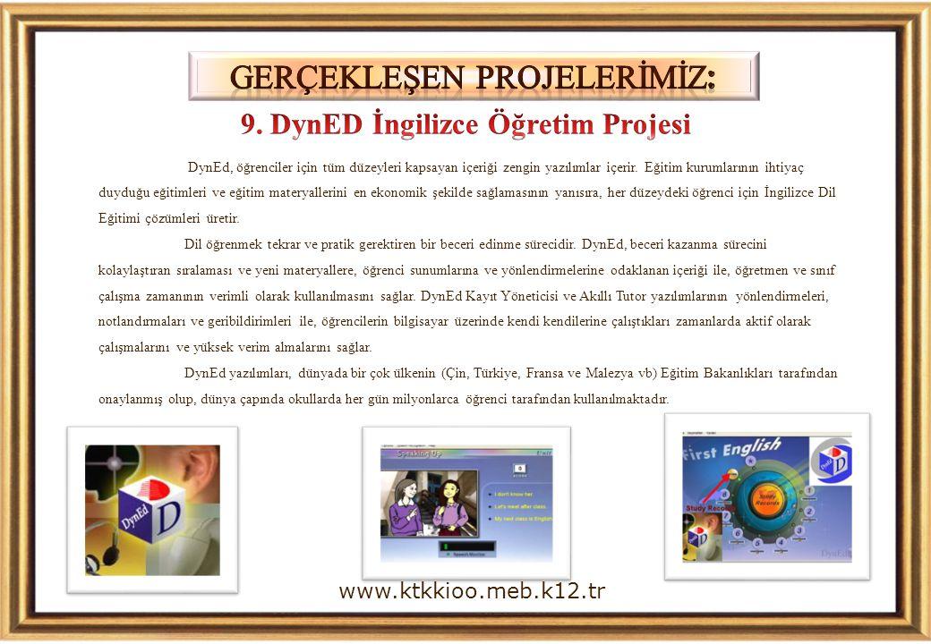 9. DynED İngilizce Öğretim Projesi