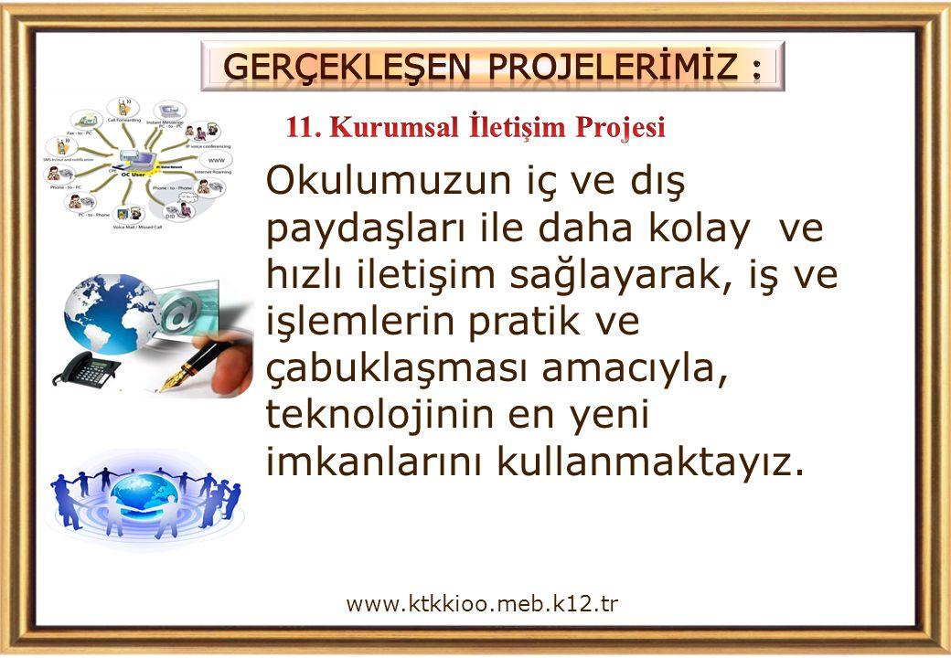 11. Kurumsal İletişim Projesi