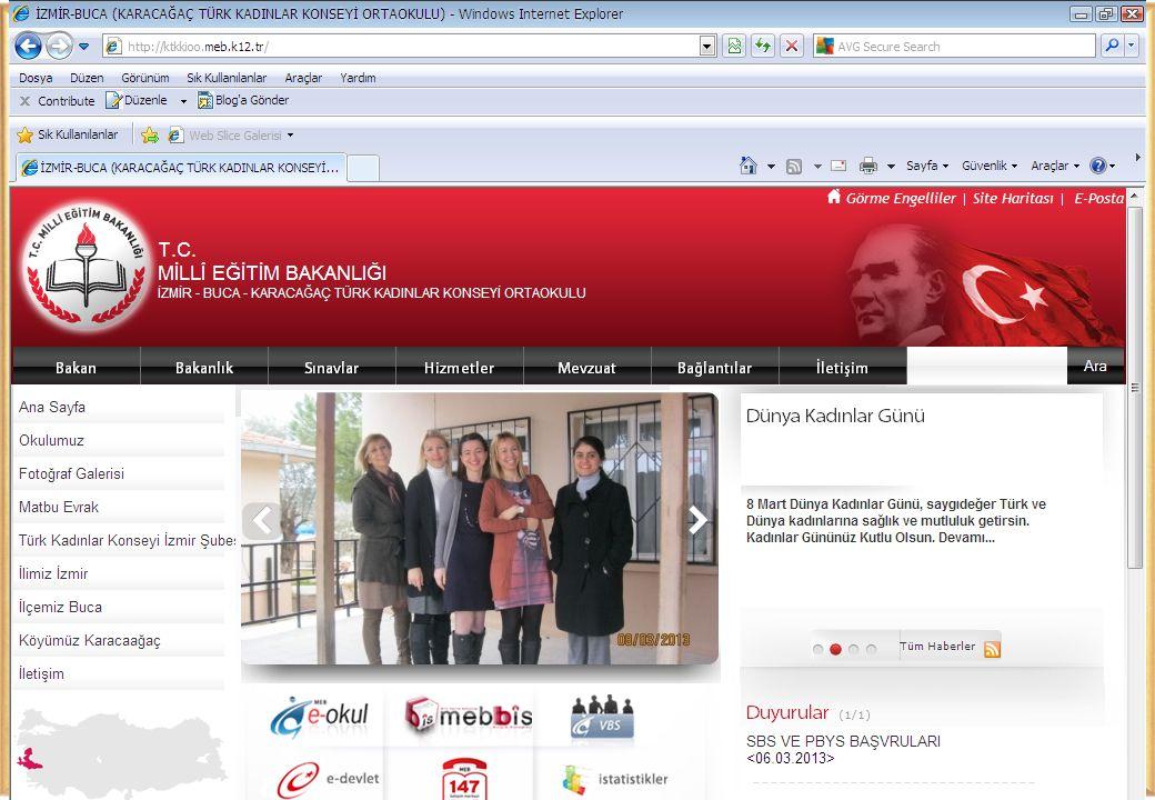 OKUL SİTEMİZ www.ktkkioo.meb.k12.tr