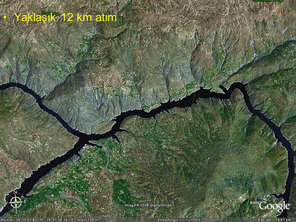 Doç.Dr. Yaşar EREN Yaklaşık 12 km atım