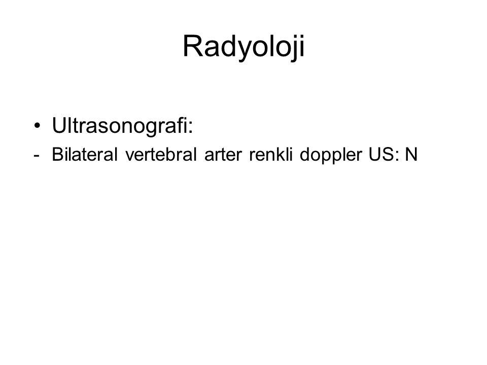 Radyoloji Ultrasonografi: