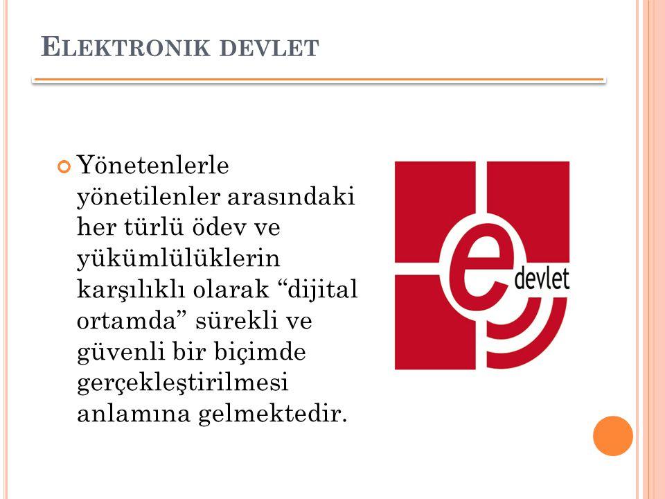 Elektronik devlet