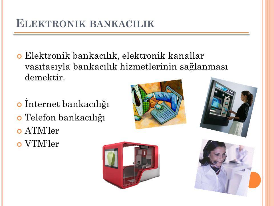 Elektronik bankacilik