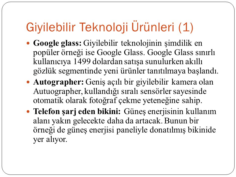 Giyilebilir Teknoloji Ürünleri (1)
