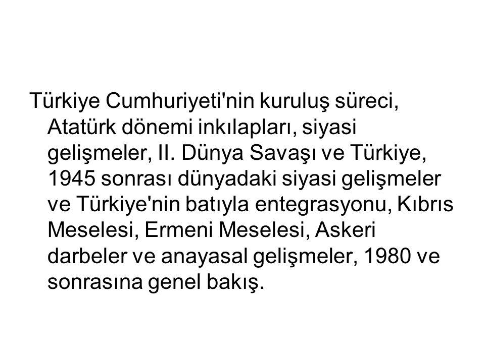 Türkiye Cumhuriyeti nin kuruluş süreci, Atatürk dönemi inkılapları, siyasi gelişmeler, II.