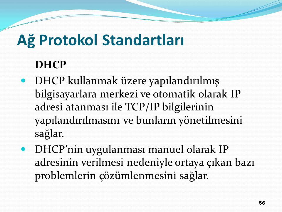 Ağ Protokol Standartları