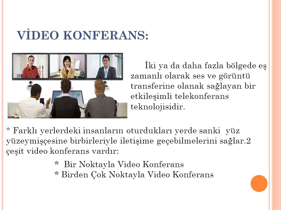 VİDEO KONFERANS: