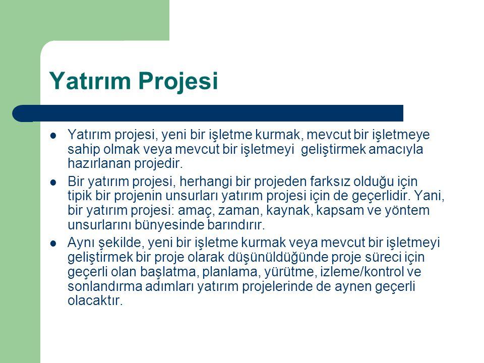 Yatırım Projesi