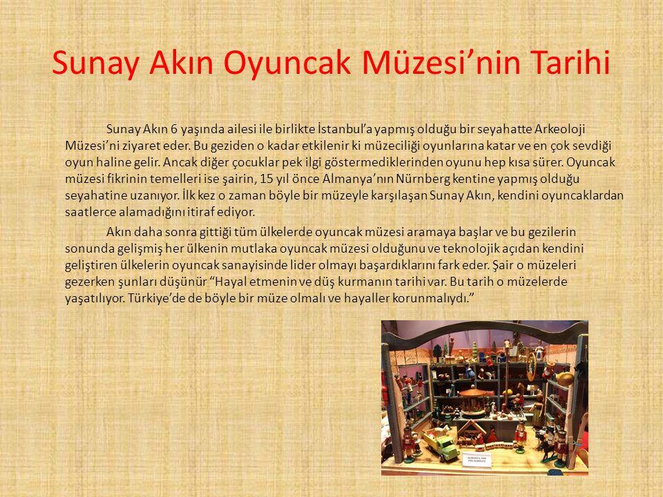 Sunay Akın Oyuncak Müzesi'nin Tarihi