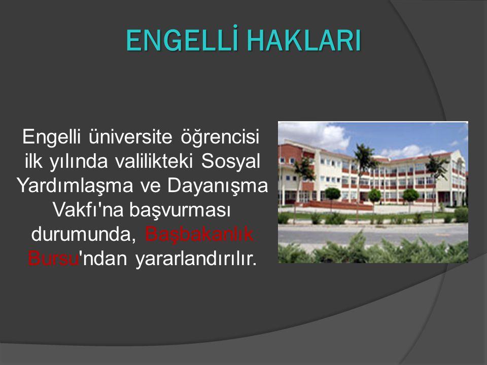 ENGELLİ HAKLARI