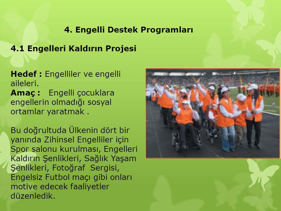 4. Engelli Destek Programları