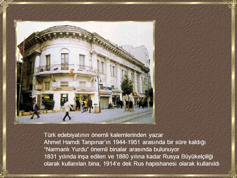Türk edebiyatının önemli kalemlerinden yazar