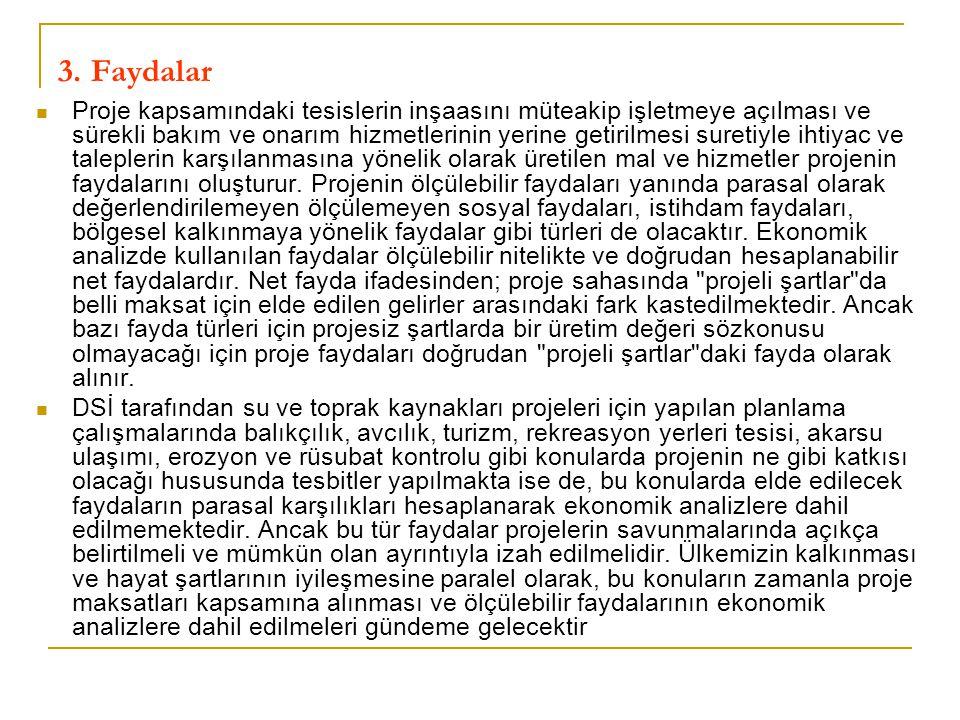 3. Faydalar