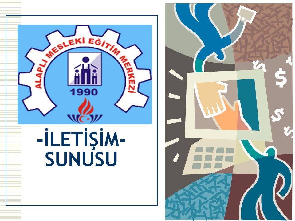 -İLETİŞİM- SUNUSU
