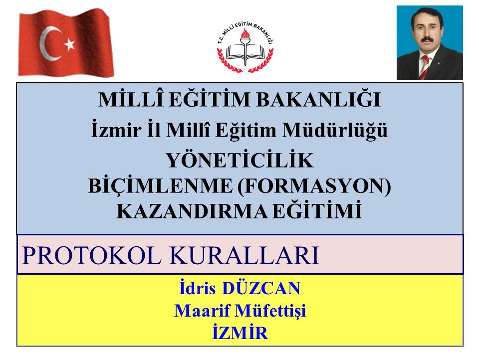 MİLLÎ EĞİTİM BAKANLIĞI İzmir İl Millî Eğitim Müdürlüğü