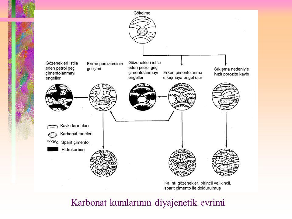 Karbonat kumlarının diyajenetik evrimi