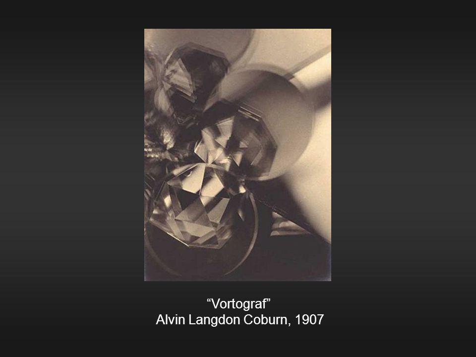 Vortograf Alvin Langdon Coburn, 1907