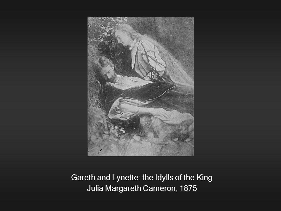 Gareth and Lynette: the Idylls of the King Julia Margareth Cameron, 1875