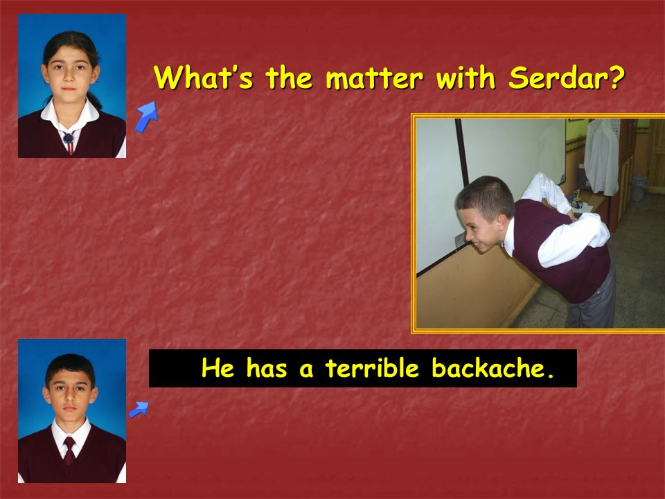 What's the matter with Serdar