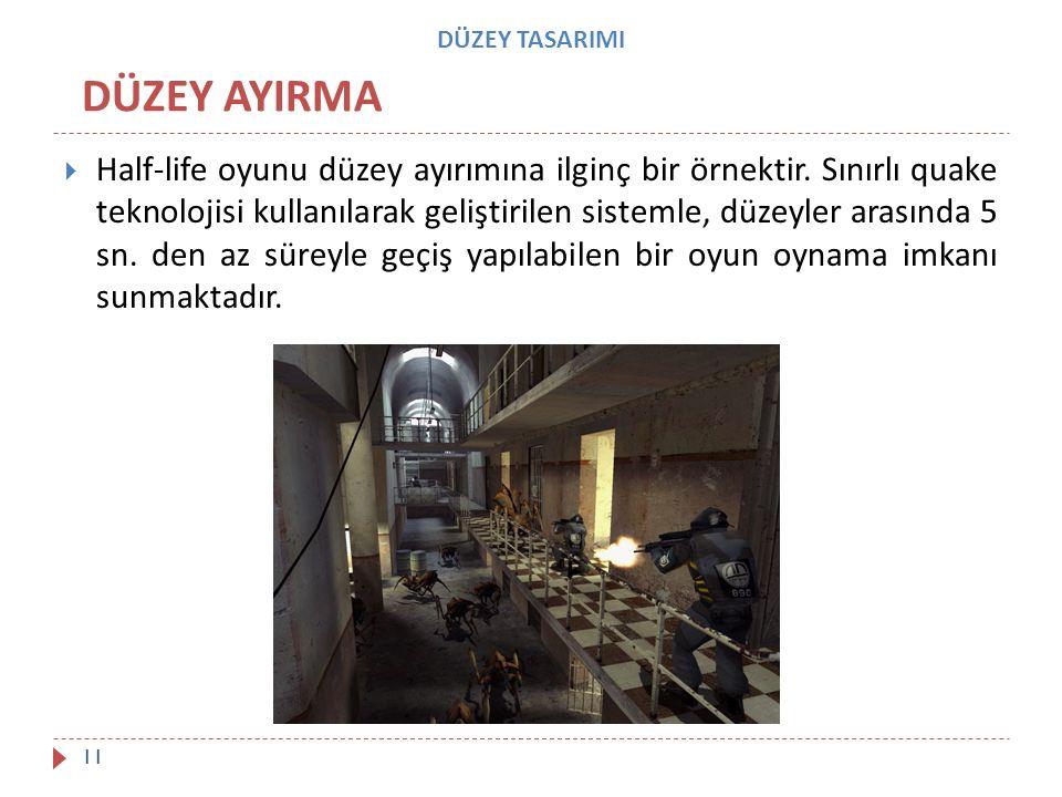 DÜZEY TASARIMI DÜZEY AYIRMA.