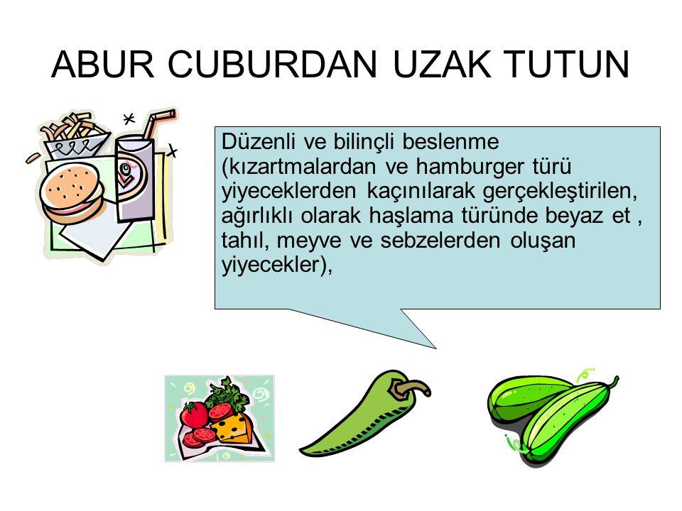 ABUR CUBURDAN UZAK TUTUN