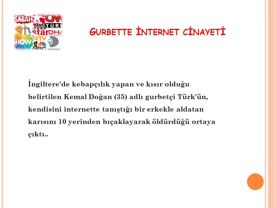 Gurbette İnternet cİnayetİ