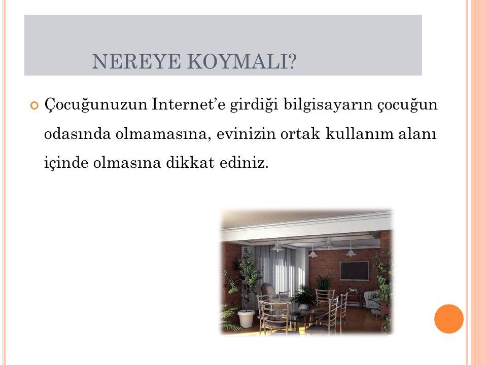 NEREYE KOYMALI