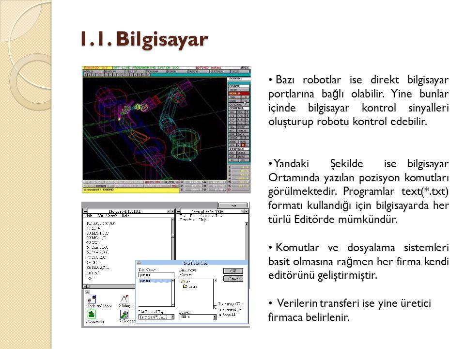 1.1. Bilgisayar