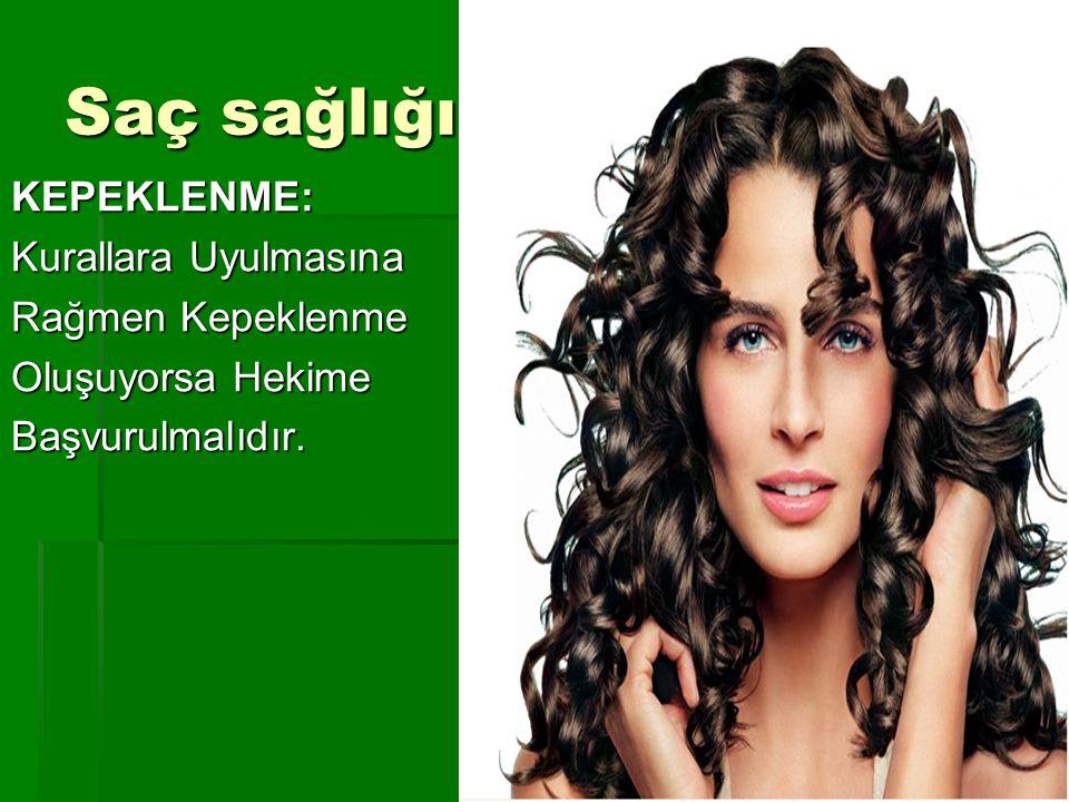 Saç sağlığı; KEPEKLENME: Kurallara Uyulmasına Rağmen Kepeklenme