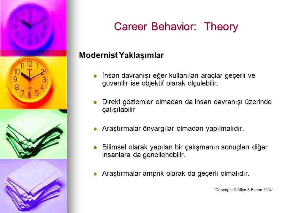 Career Behavior: Theory