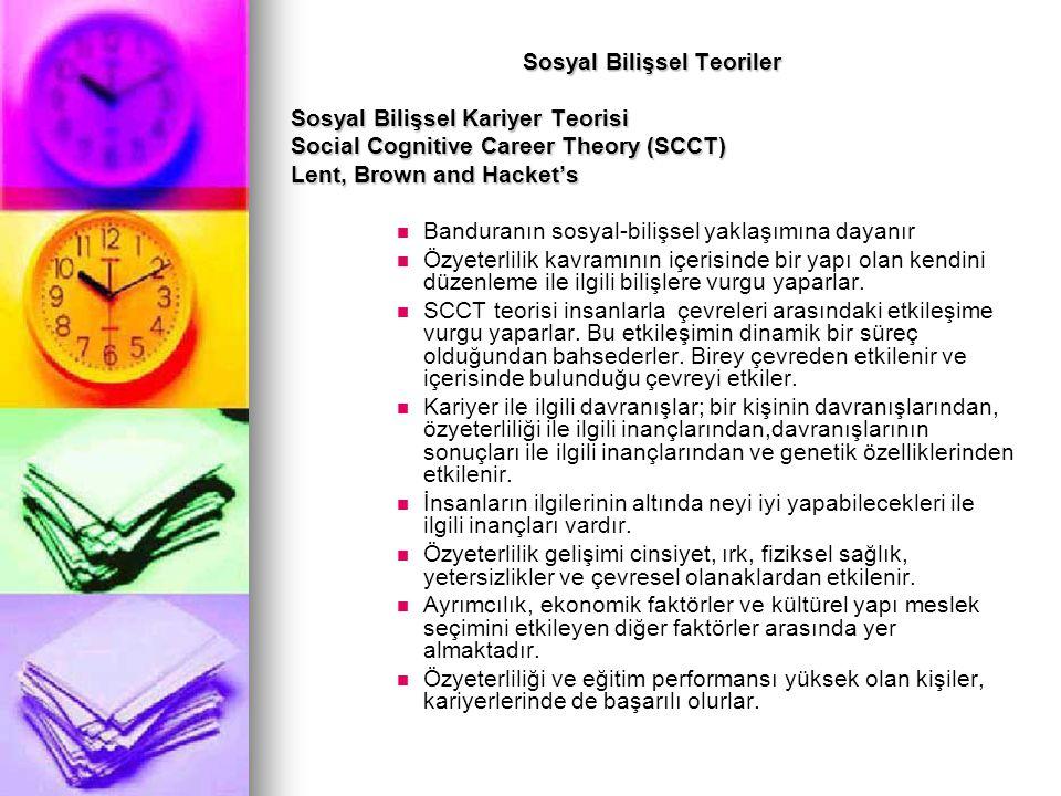 Sosyal Bilişsel Teoriler