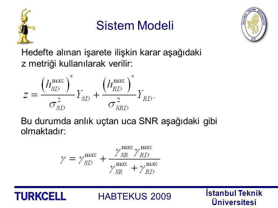 Sistem Modeli Hedefte alınan işarete ilişkin karar aşağıdaki