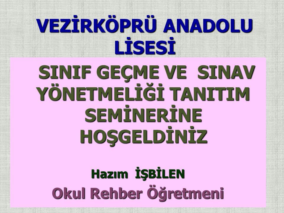 VEZİRKÖPRÜ ANADOLU LİSESİ