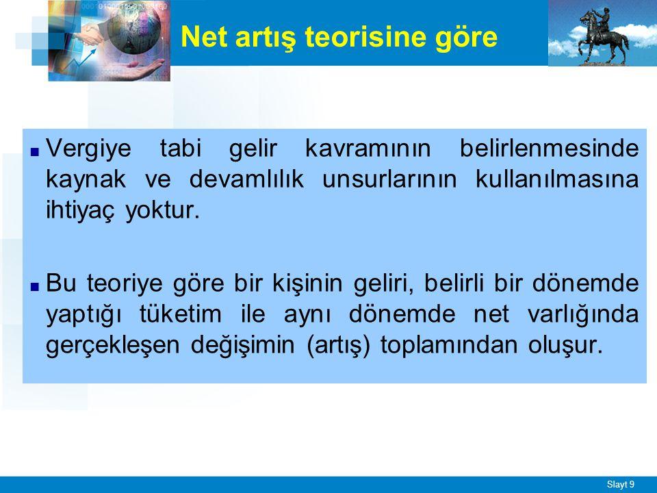 Yapılan düzenlemelerle Türk Vergi Sistemi'nde, ödeme gücüne göre vergilendirme ilkesinden hareketle, satın alma gücü yaratan her türlü değer akımının vergilendirilmesi amaçlanmıştır.