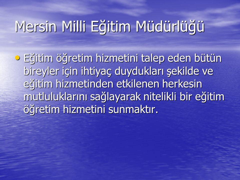 Mersin Milli Eğitim Müdürlüğü
