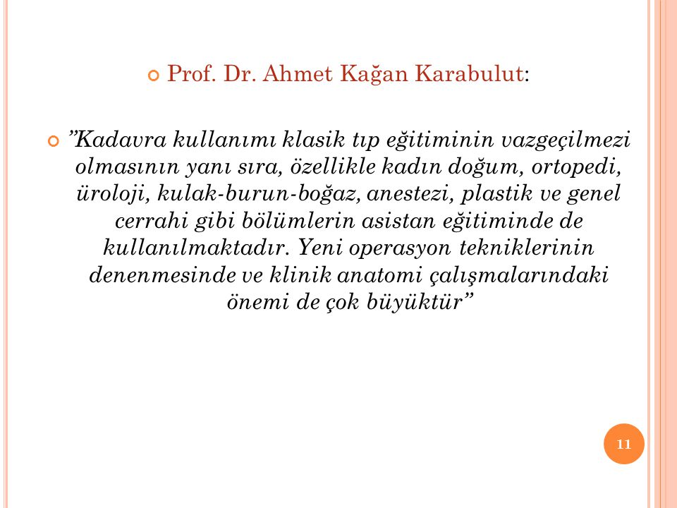 Prof. Dr. Ahmet Kağan Karabulut: