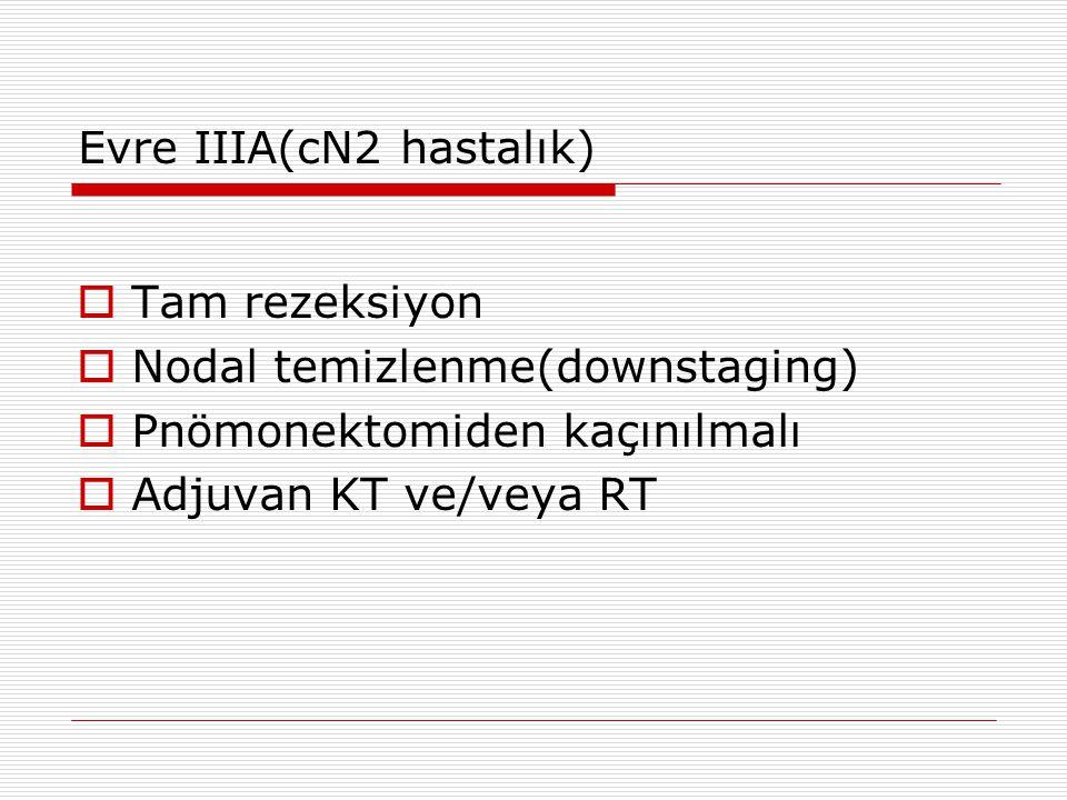 Evre IIIA(cN2 hastalık)