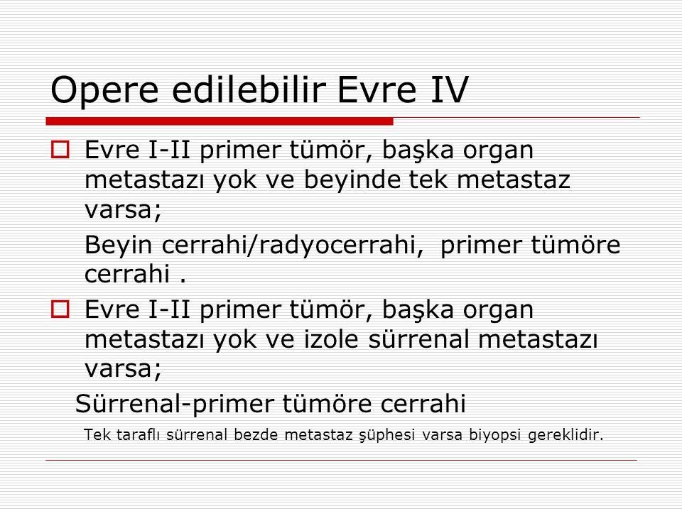 Opere edilebilir Evre IV