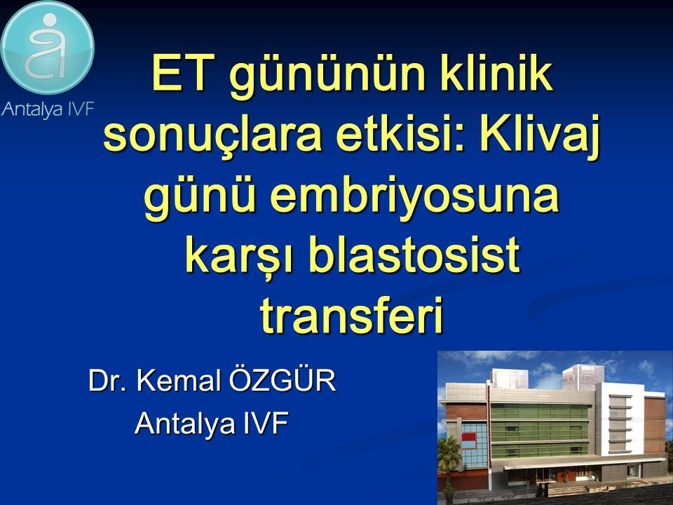 Dr. Kemal ÖZGÜR Antalya IVF