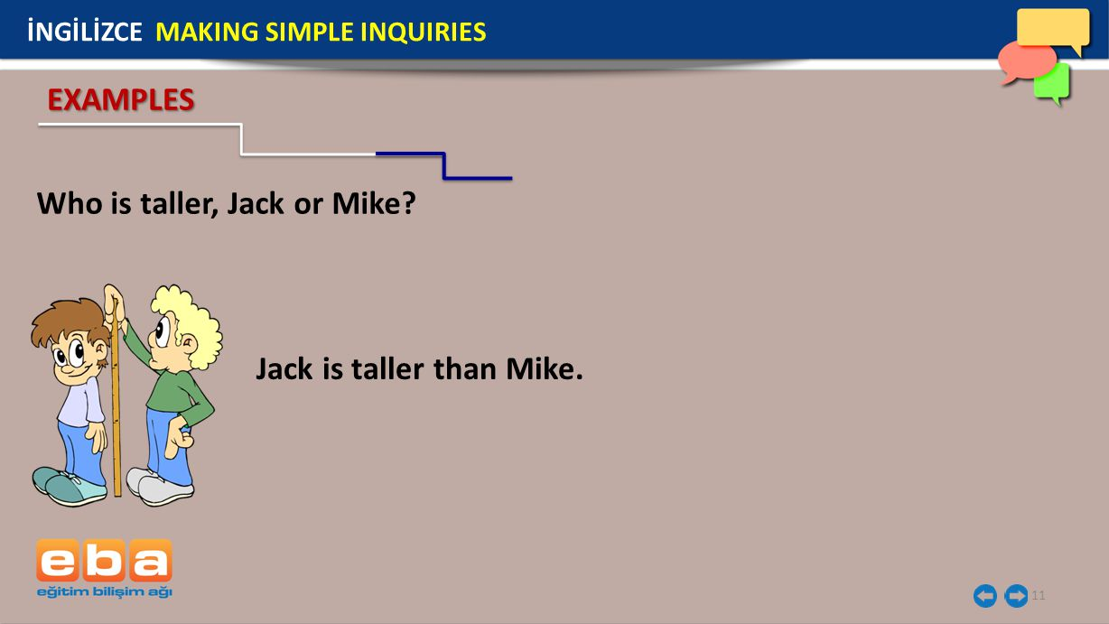 Who is taller, Jack or Mike