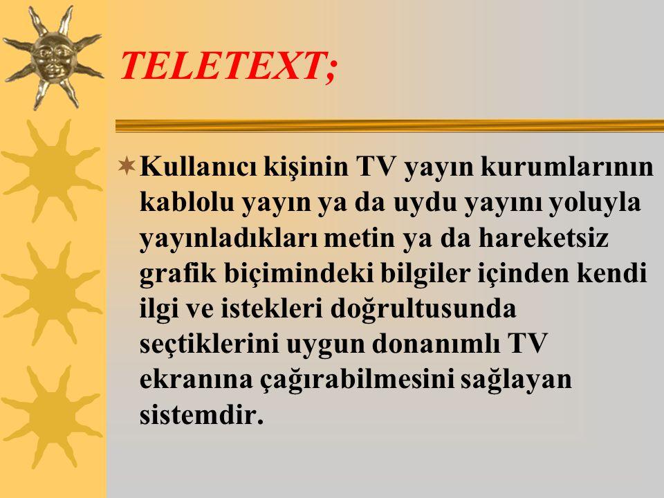 TELETEXT;