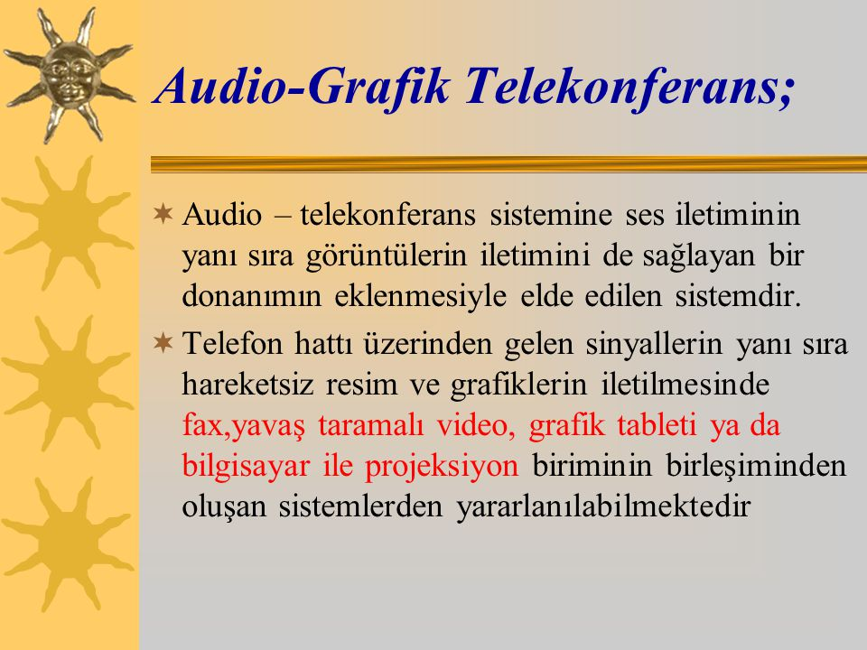 Audio-Grafik Telekonferans;