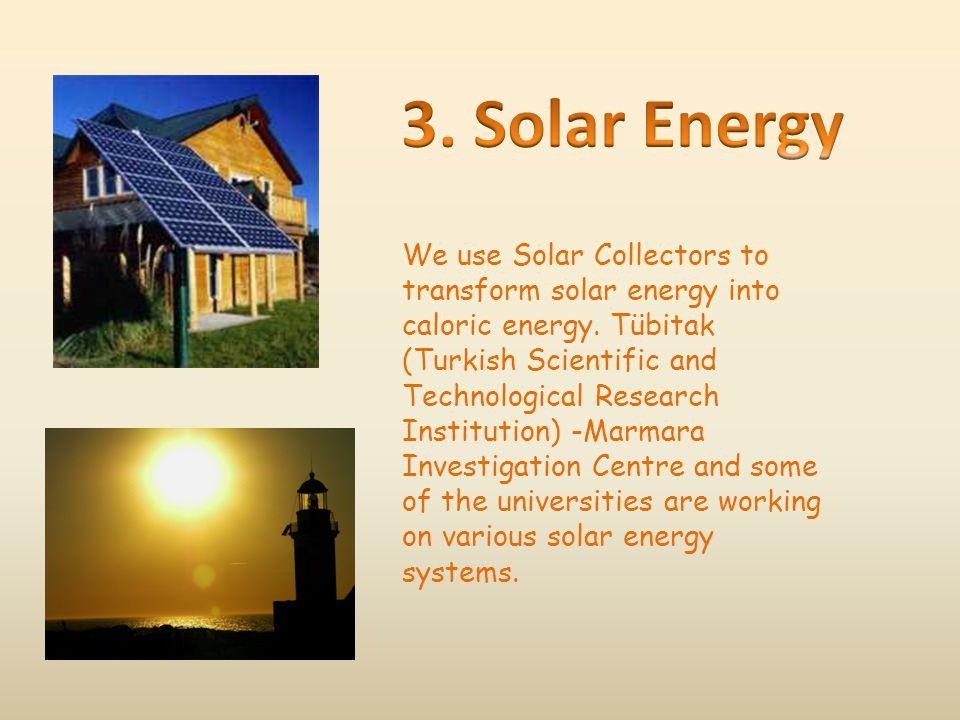 3. Solar Energy