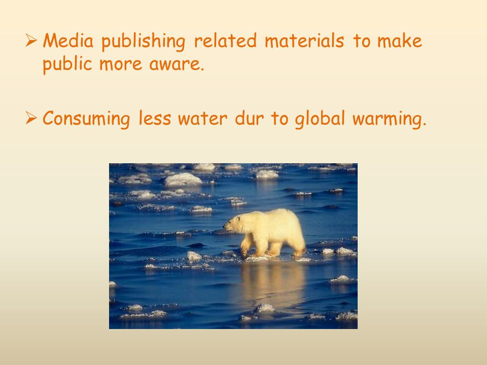 Media publishing related materials to make public more aware.