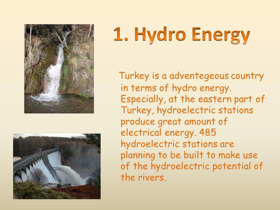 1. Hydro Energy