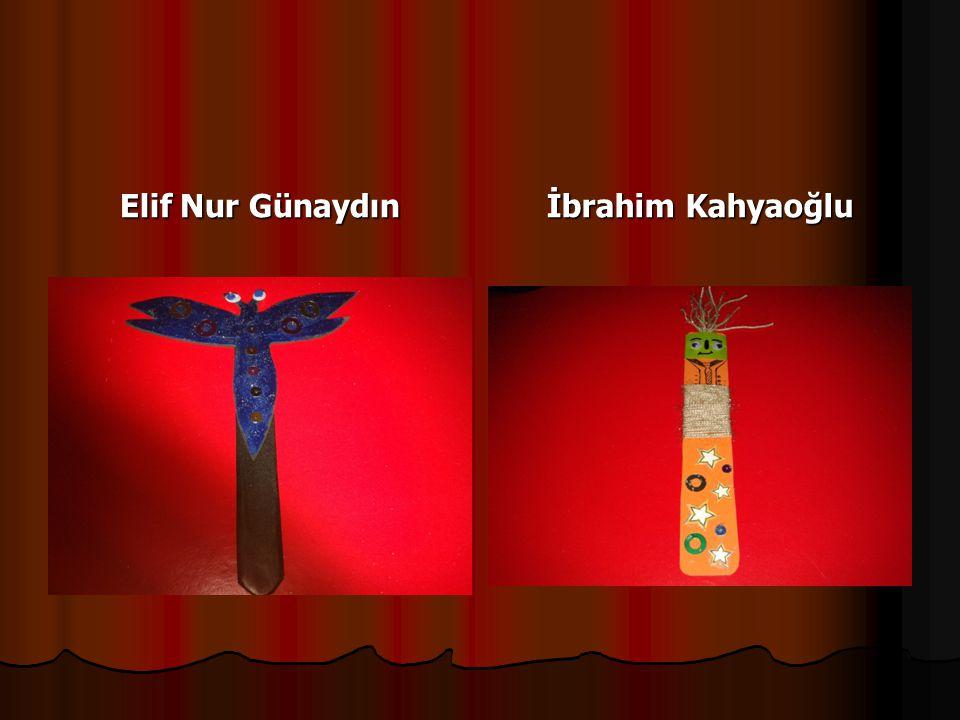 Elif Nur Günaydın İbrahim Kahyaoğlu