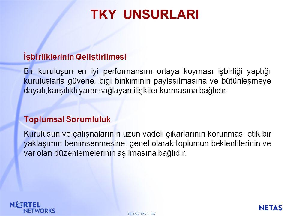 NEDEN EFQM / KALDER MODELİNİ BENİMSEDİK