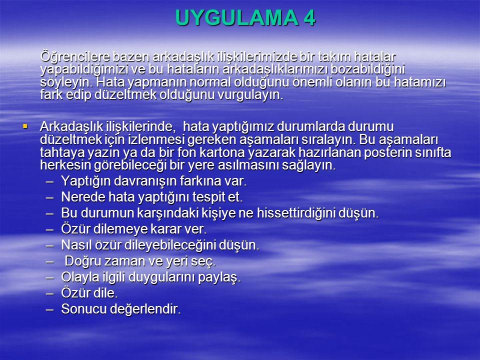 UYGULAMA 4