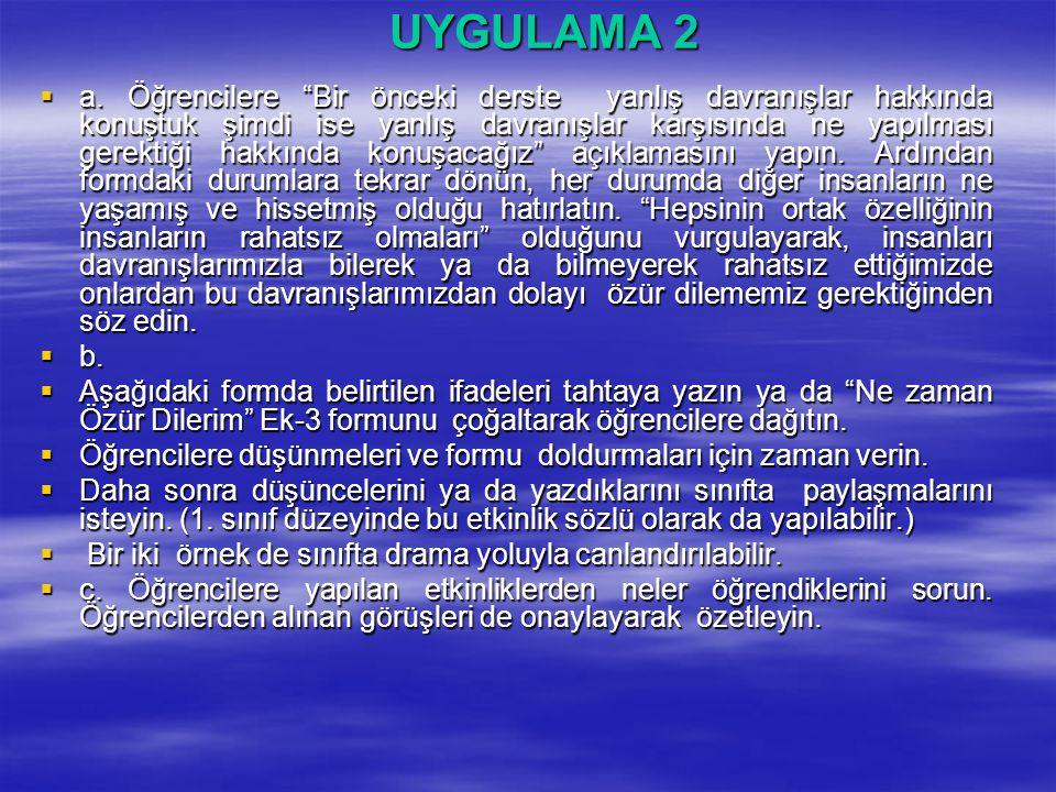 UYGULAMA 2